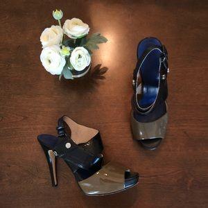 Calvin Klein Open Toe Strappy Heels